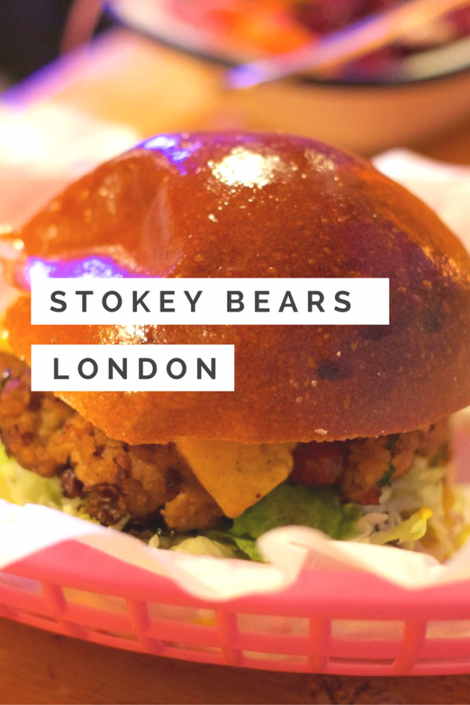 Stokey Bears Burger
