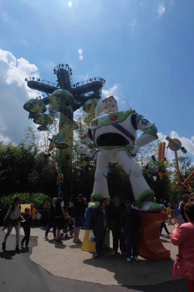 Emma Inks Disneyland Theme Park Paris France Buzz Lightyear