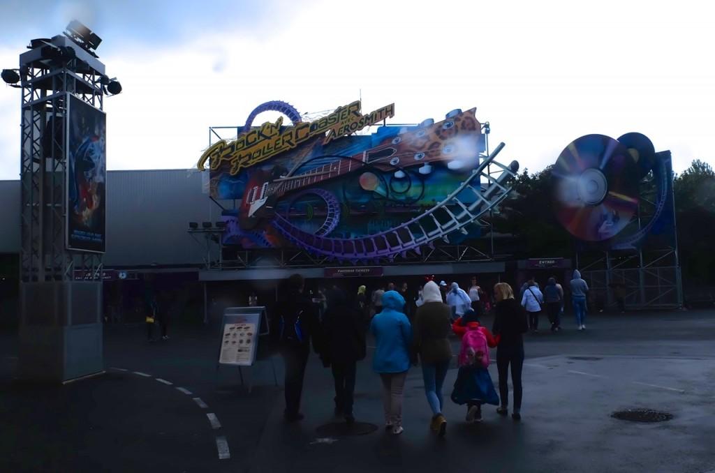 Rock Roller Coaster Disneyland Paris