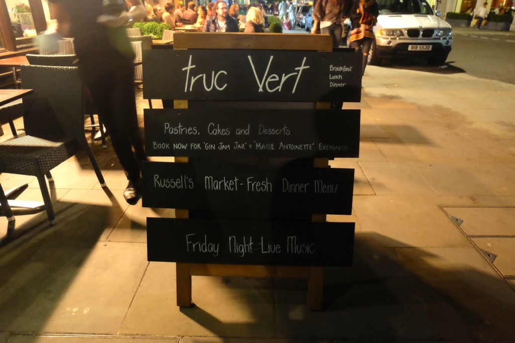 Truc Vert London Emma Inks