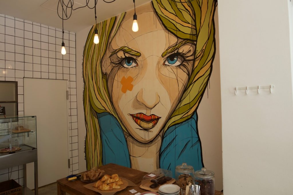 Art at Happy Barista Berlin