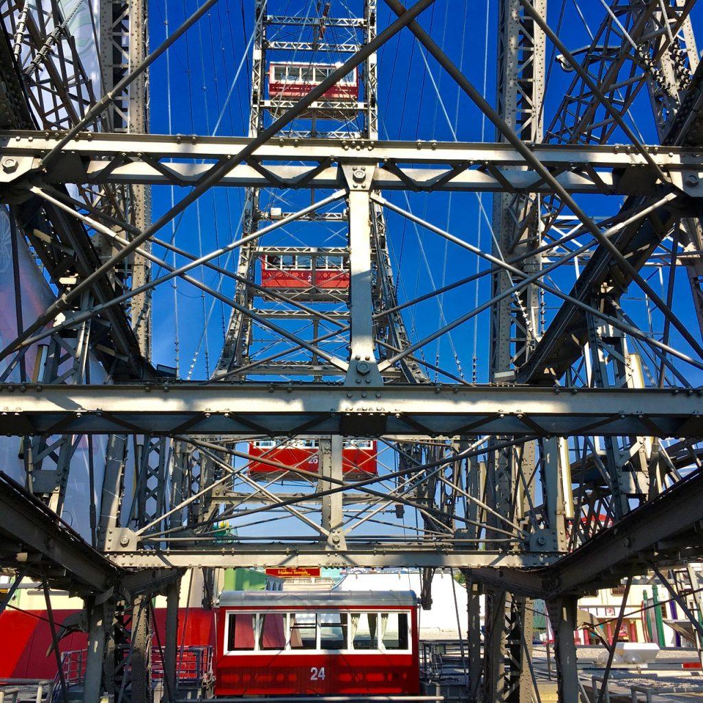 Vienna Ferris Wheel Emma Inks