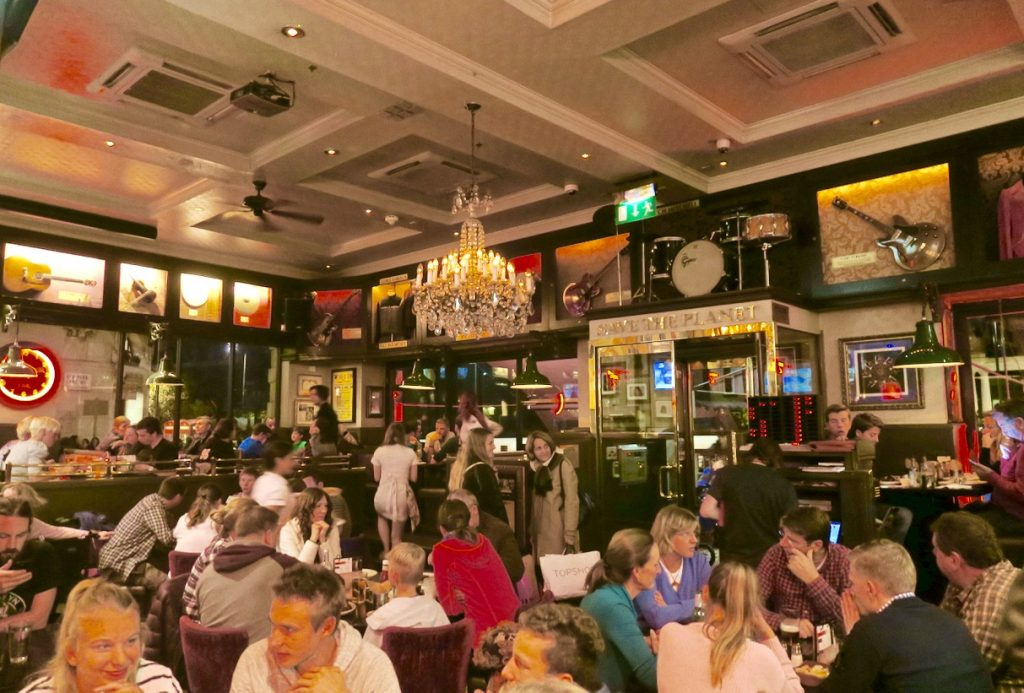 Hard Rock London Interior