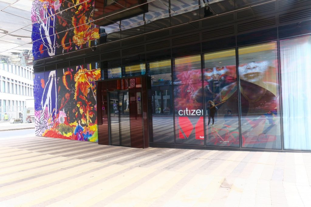 CitizenM Shoreditch exterior