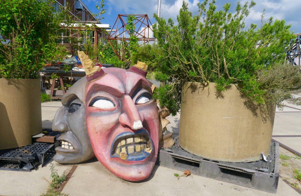 Amsterdam Noord theatre masks Emma Inks blog