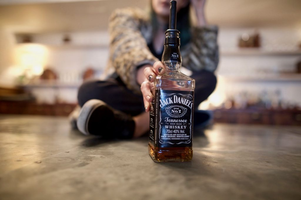 Jack Daniels fashion photography
