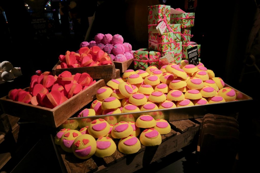 Lush Valentines Products
