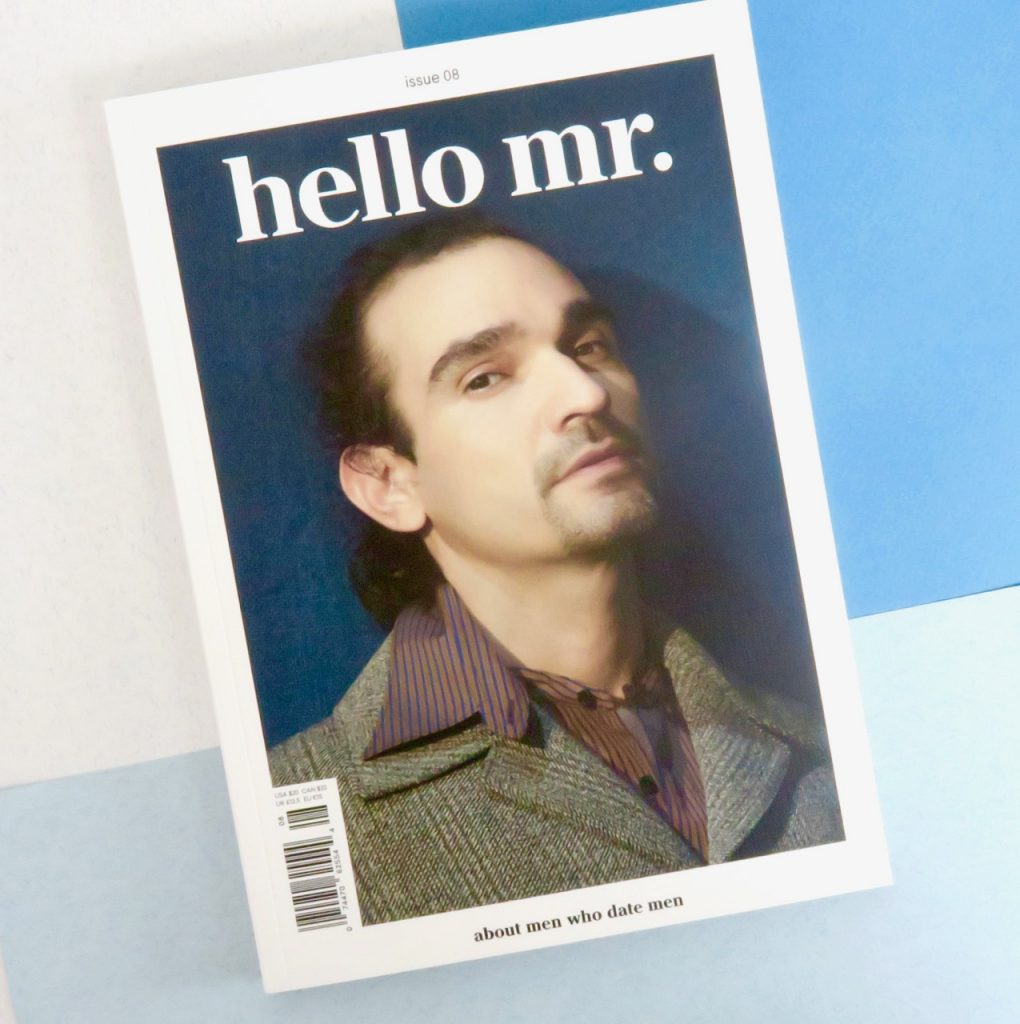 Hello Mr magazine front cover