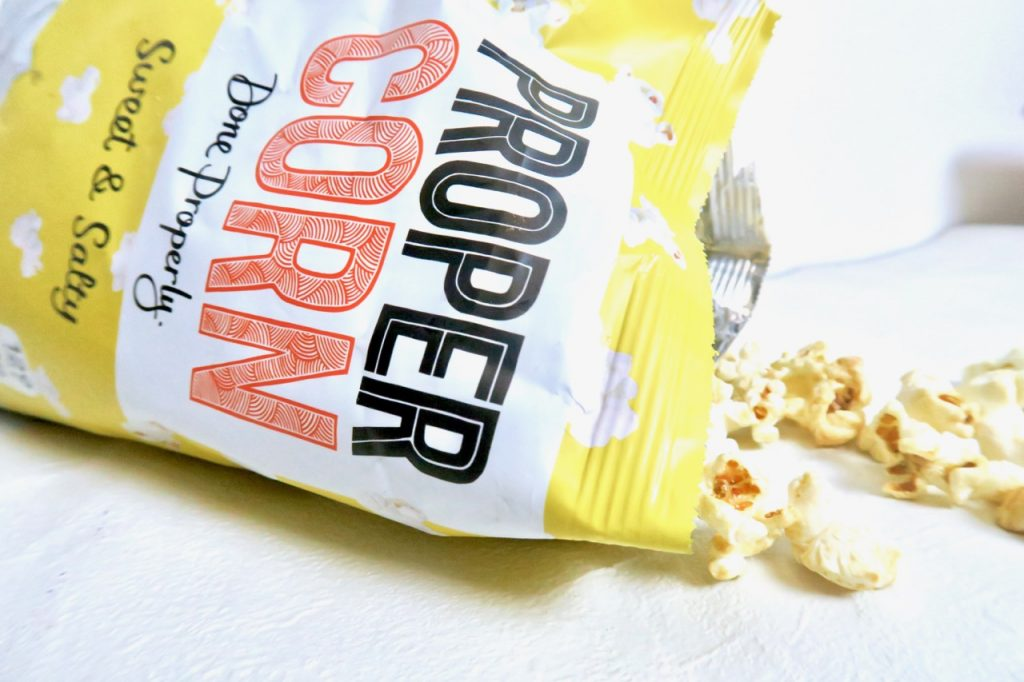 Propercorn healthy snacks