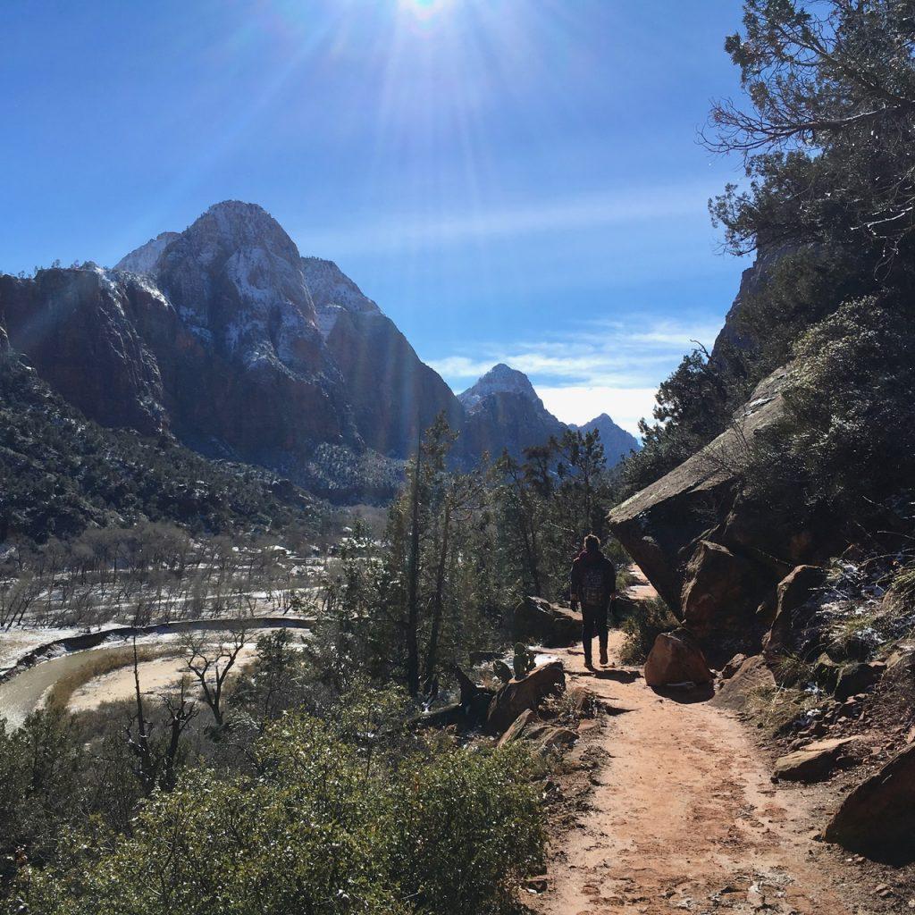 Kayenta trail zion utah