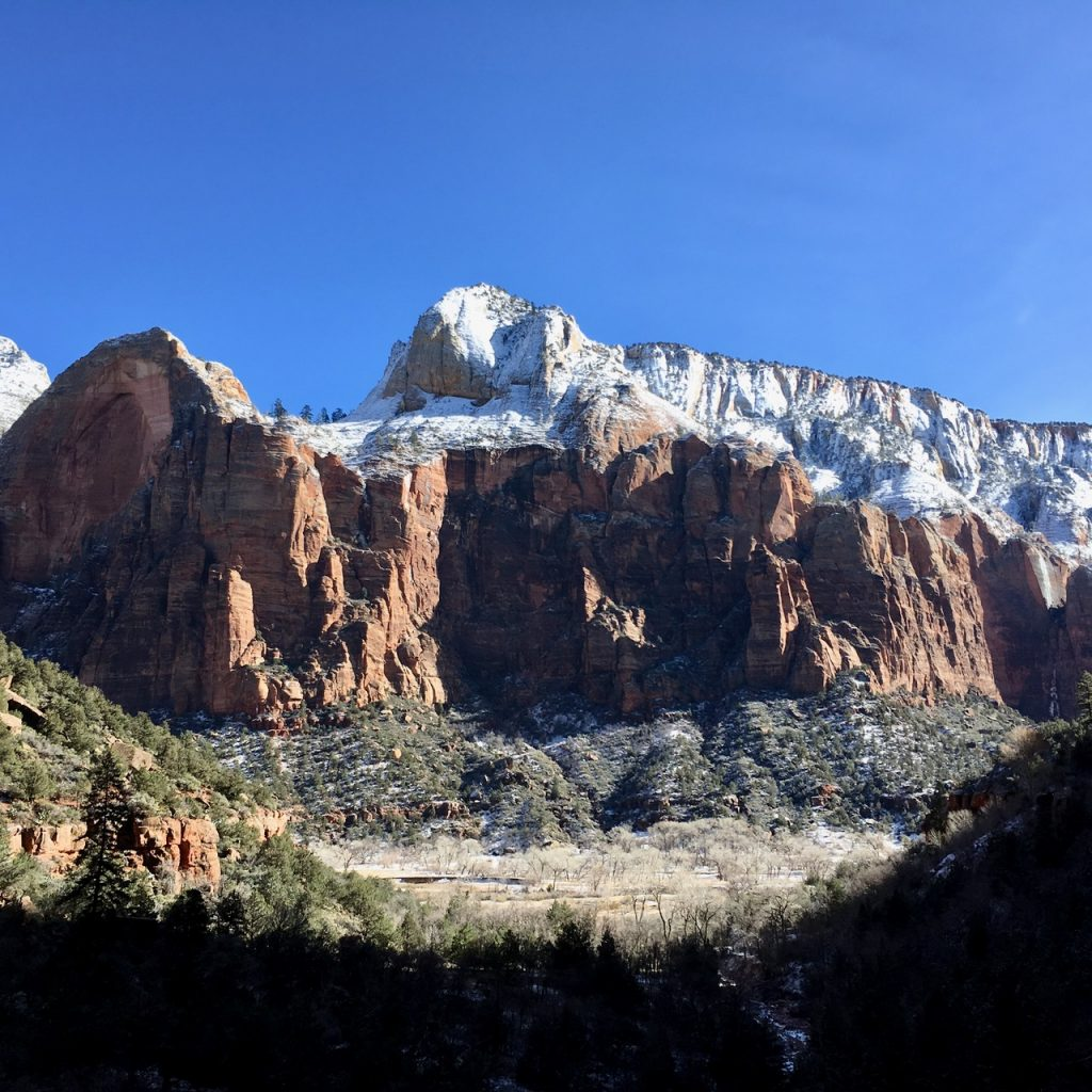 Zion National Park Trail View