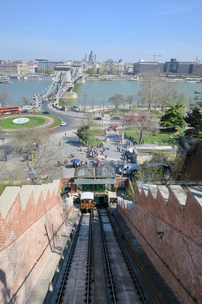 Castle Hill incline Budapest
