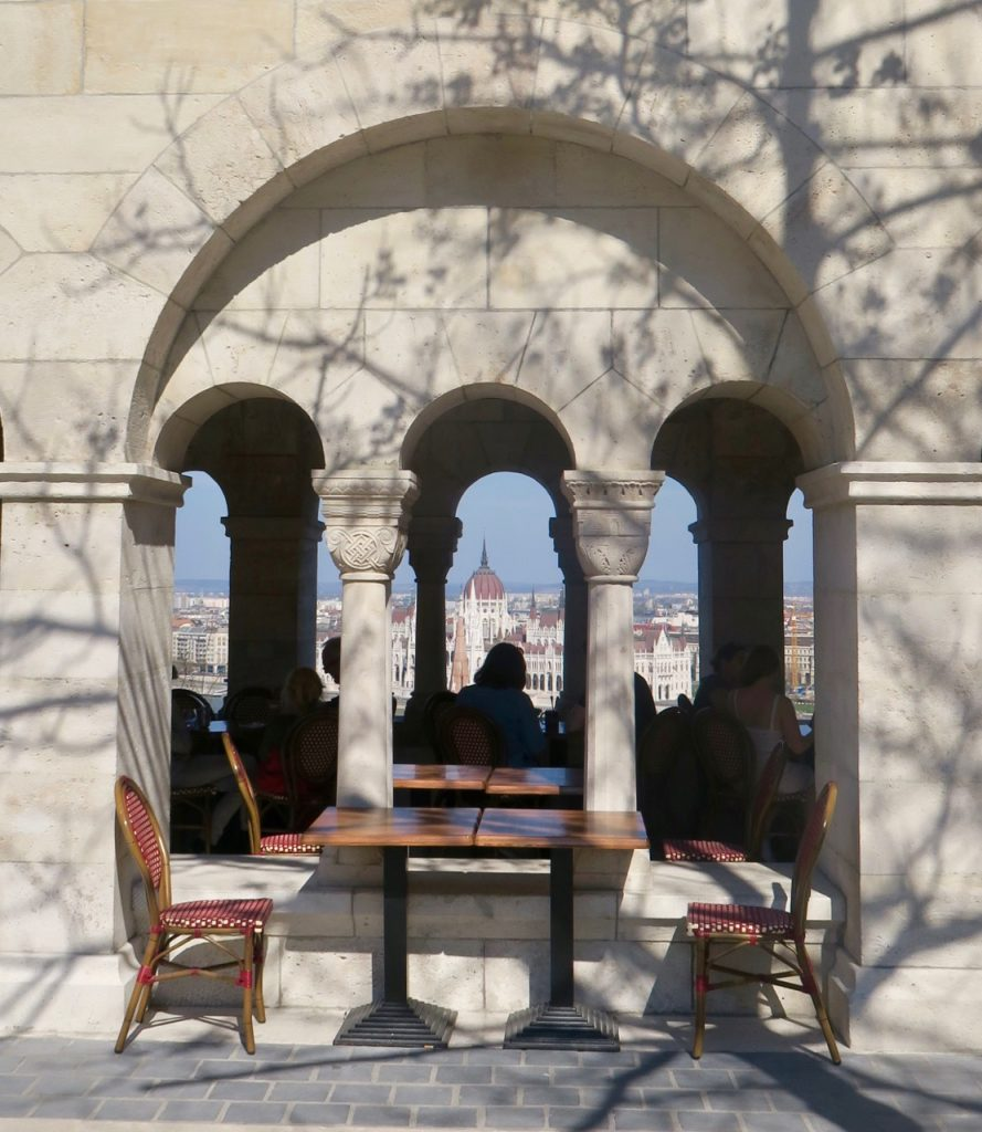 Fisherman's Bastion View Budapest