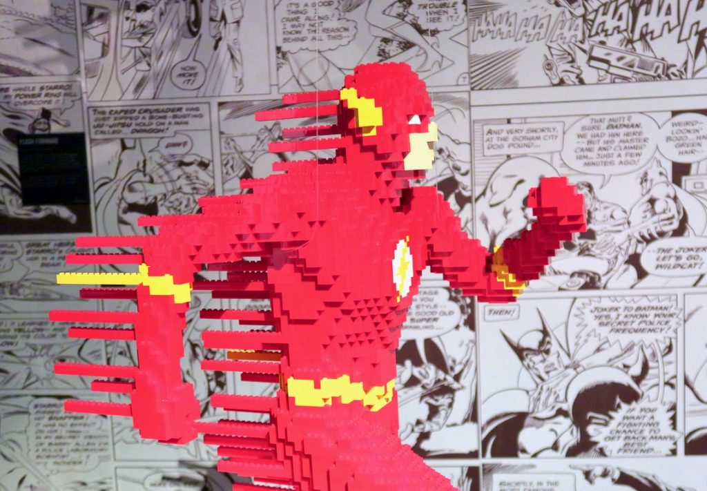 Flash Art of Brick