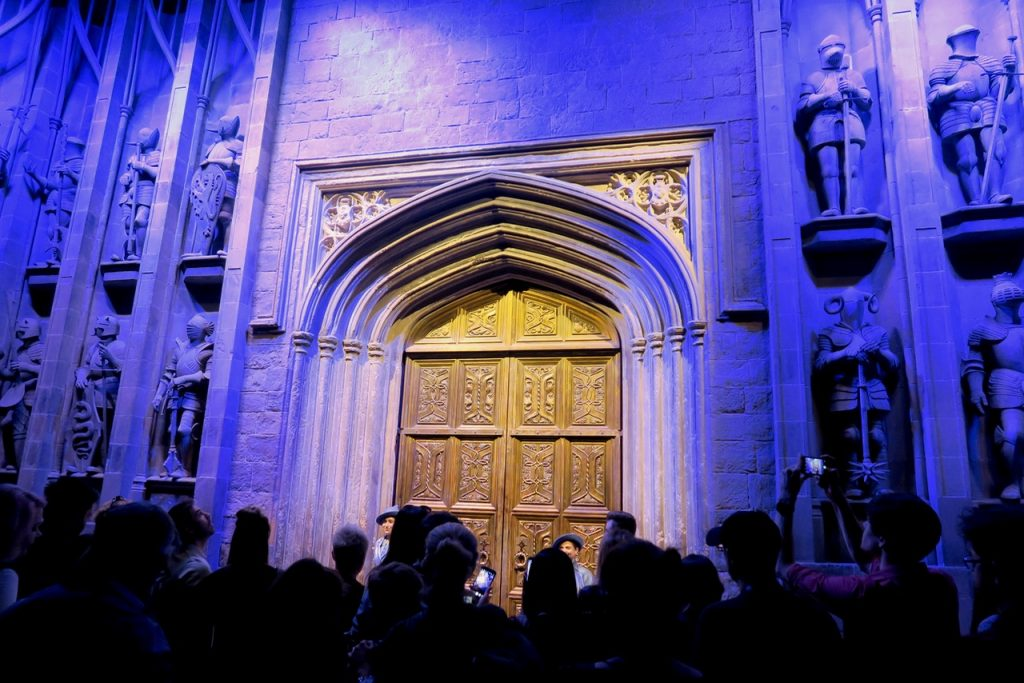 Hogwarts The Great Hall Doors