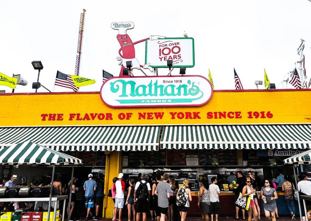 Nathans Coney Island