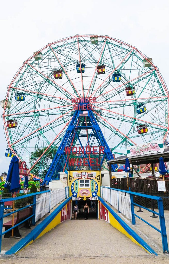 Deno's Wonder Wheel Coney Island