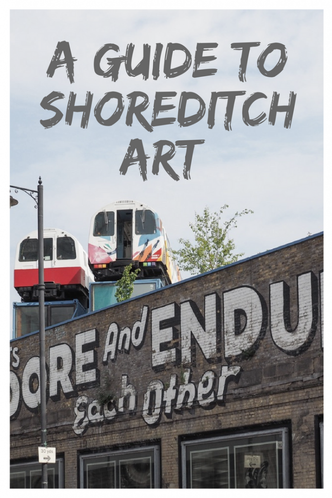 Emma Inks - Guide to Shoreditch Art East London