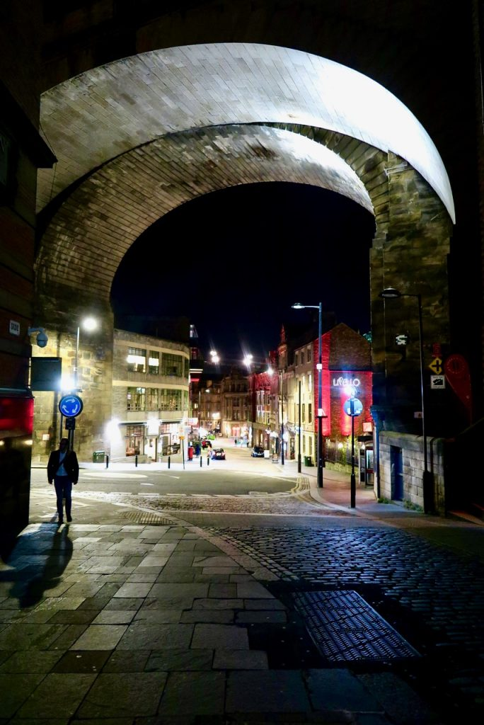Newcastle at night