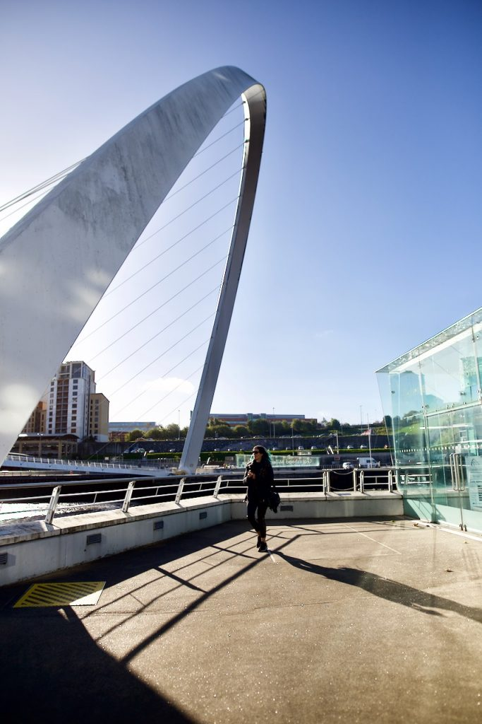 Millennium Bridge Newcastle - Emma Inks