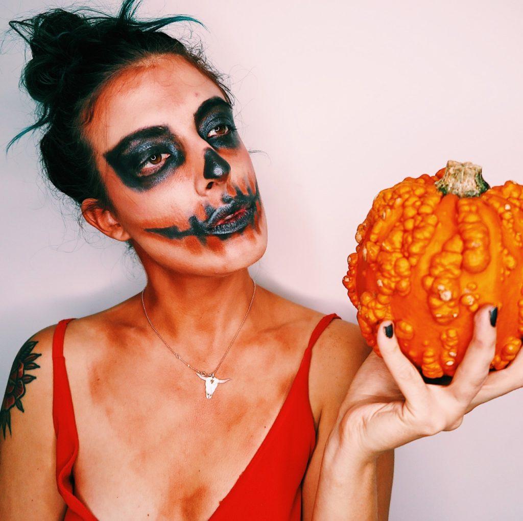 Emma Inks Halloween Pumpkin