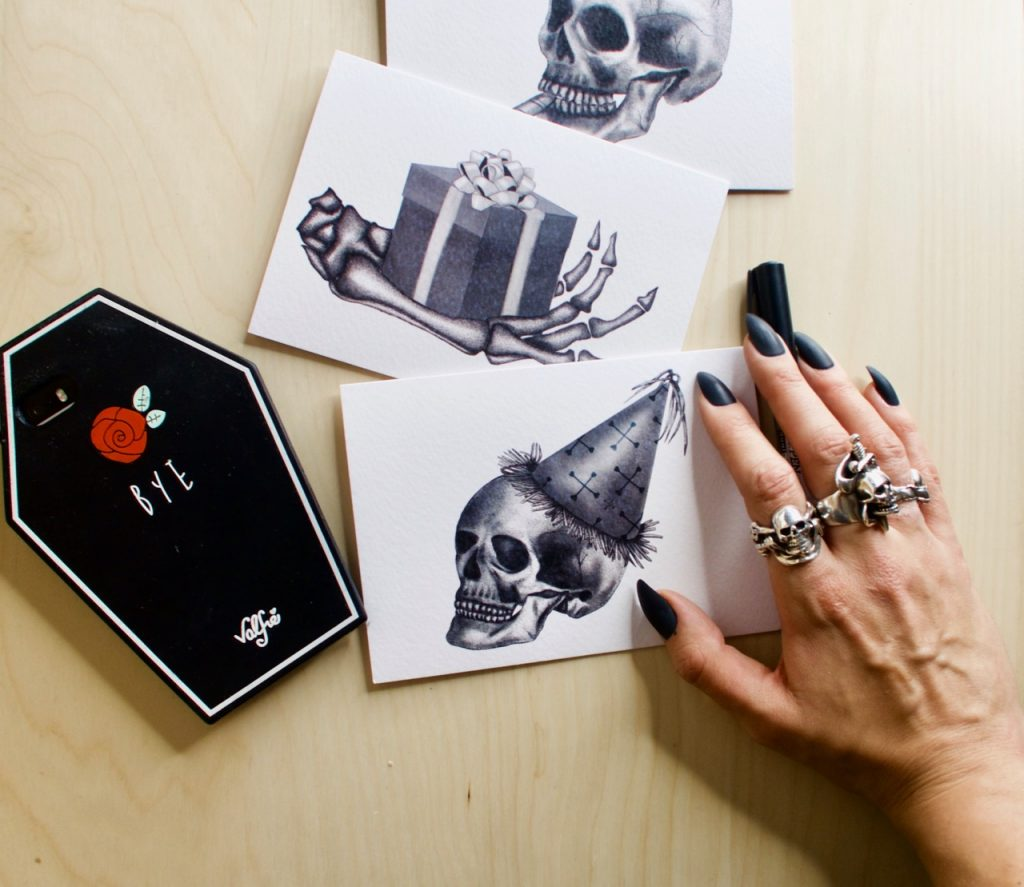 Emma Inks Designs Gothic Card Set