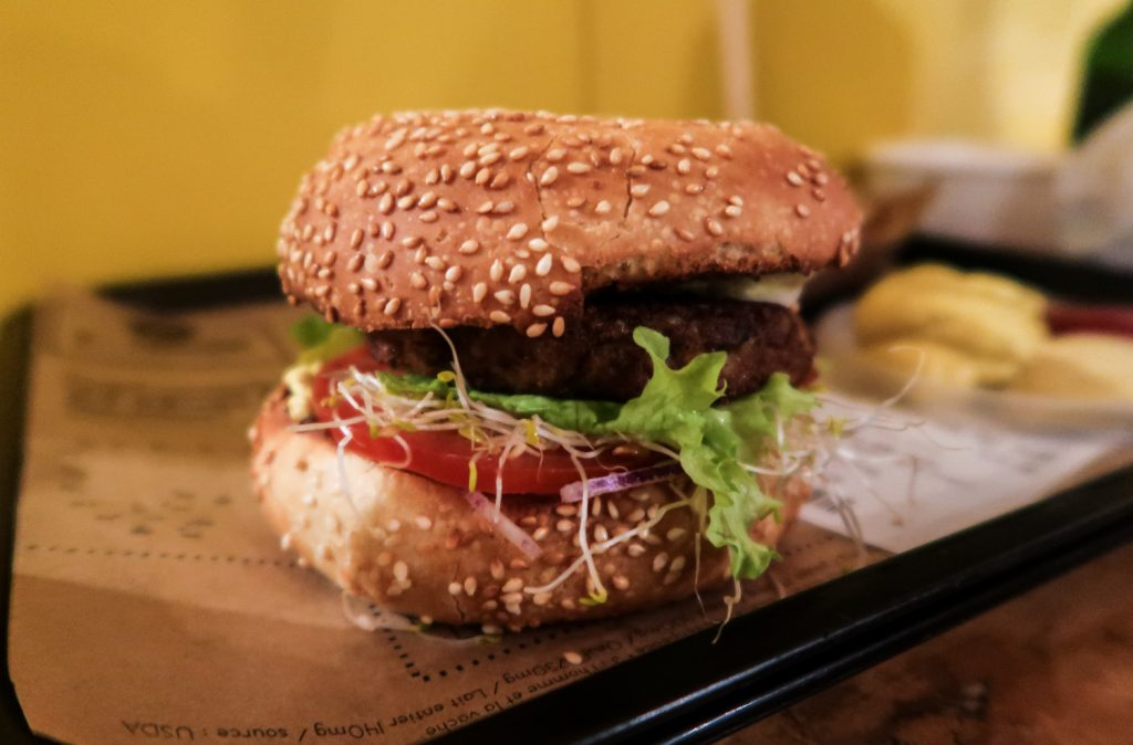 Vegan Paris Hank Burger