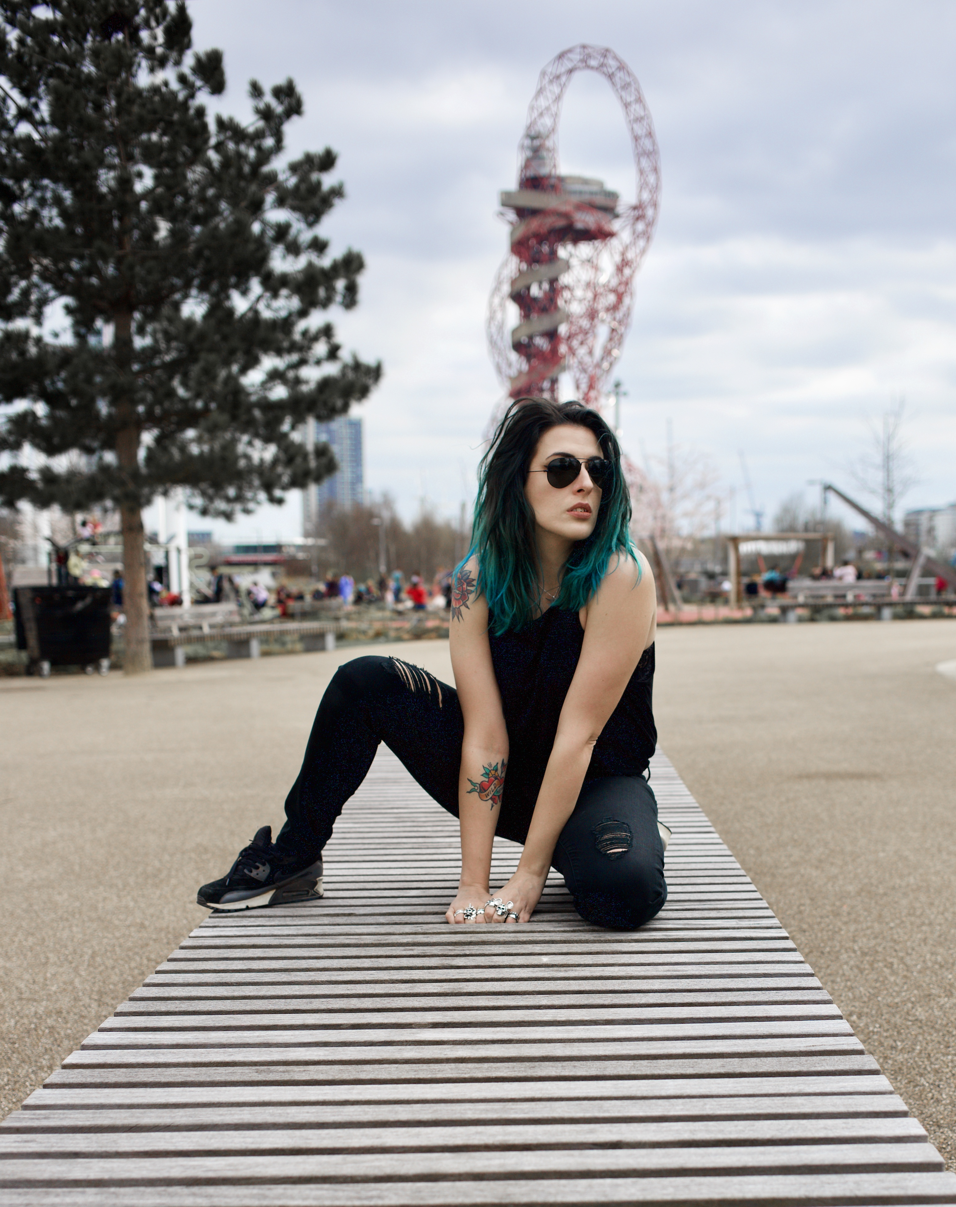 Emma Inks Blogger Queen Elizabeth Park