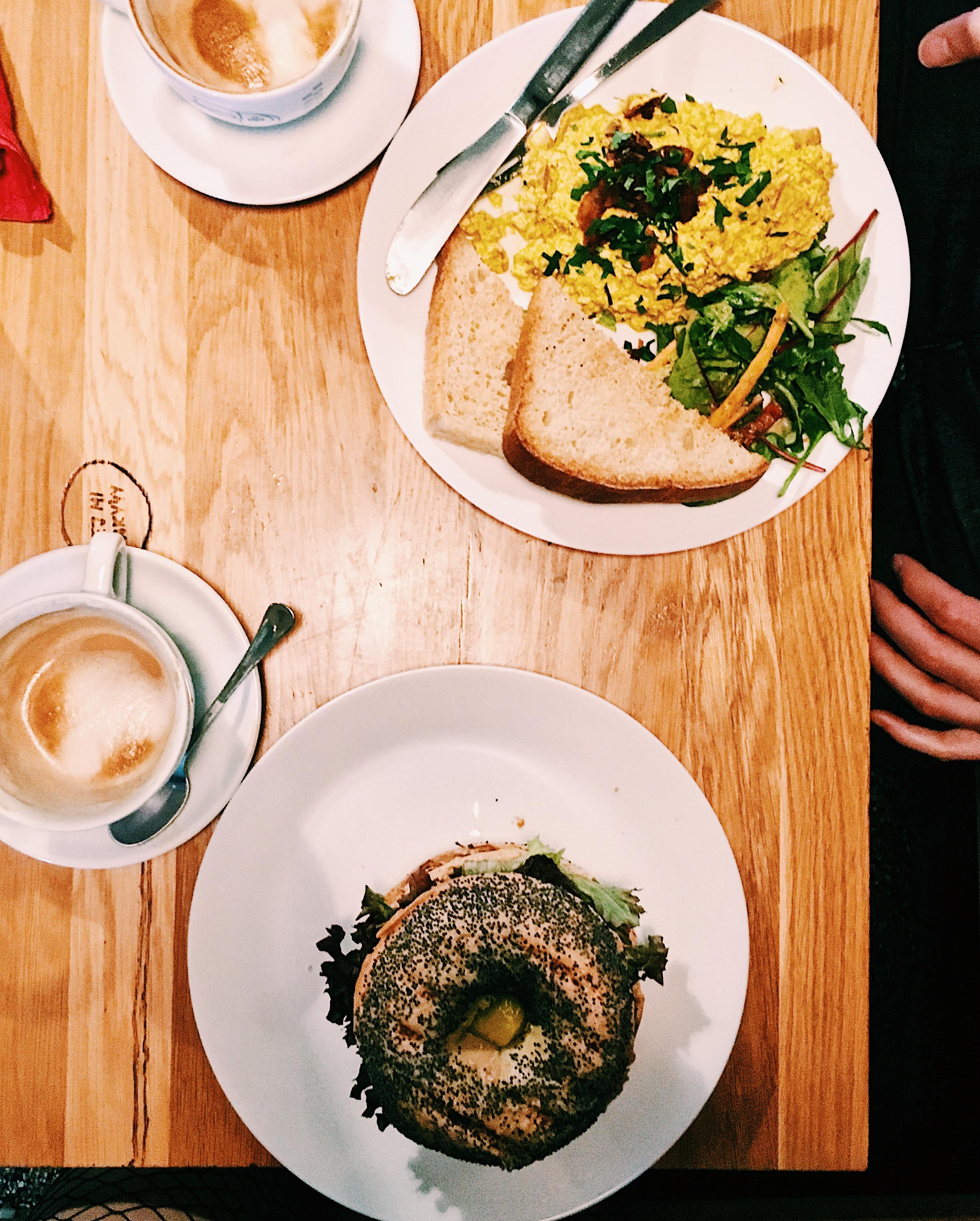 Cafe Moment Prague Vegan Food