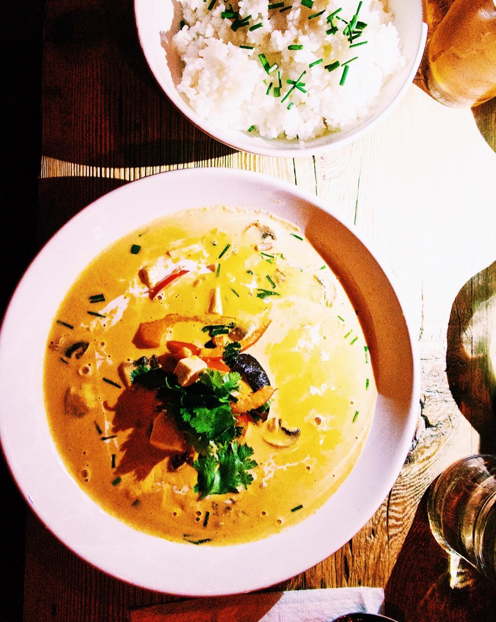 Satsang Vegan Thai Curry Prague