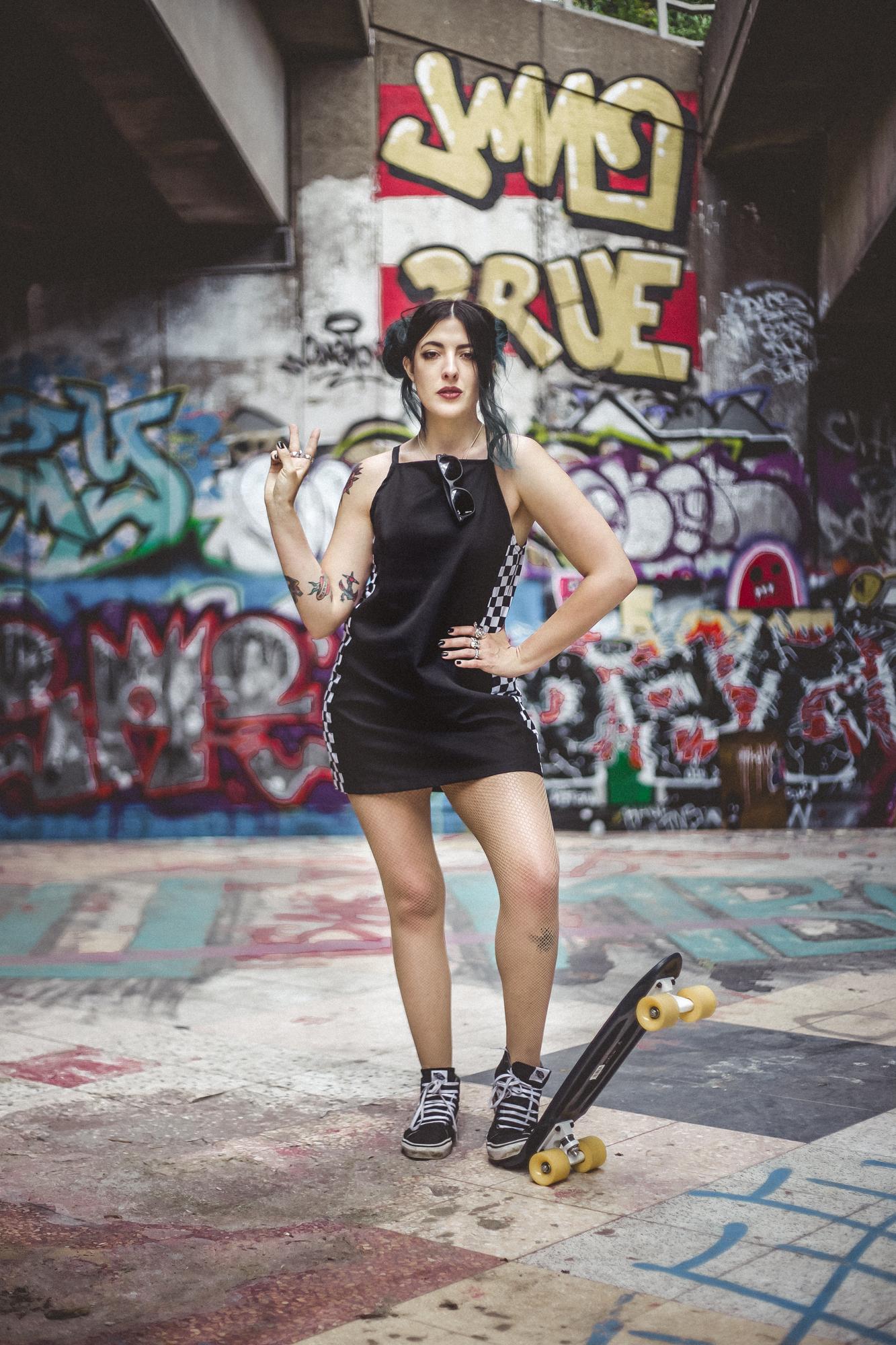 Emma Inks street art and alternative style