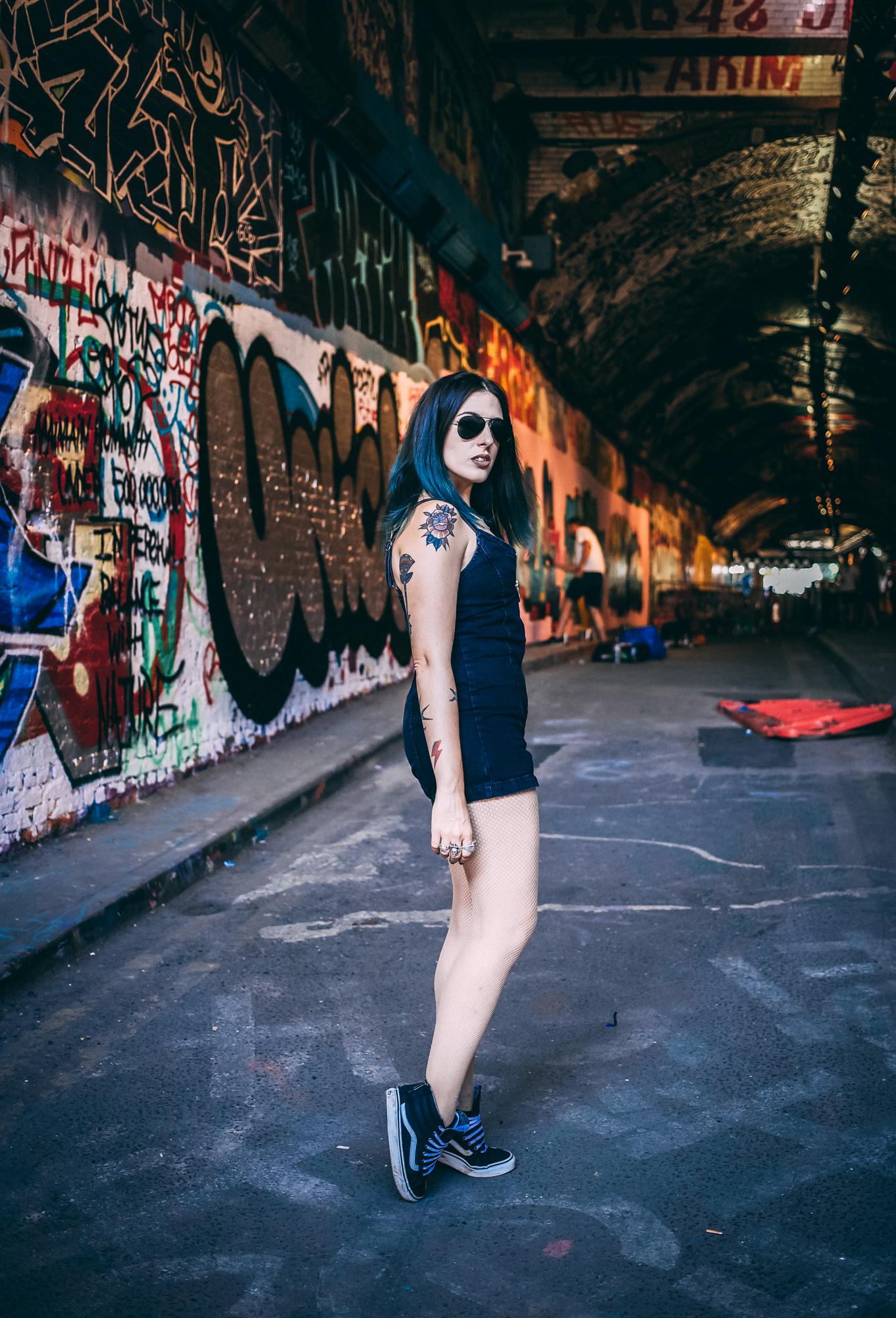 Emma Inks Alt Style Topshop Playsuit