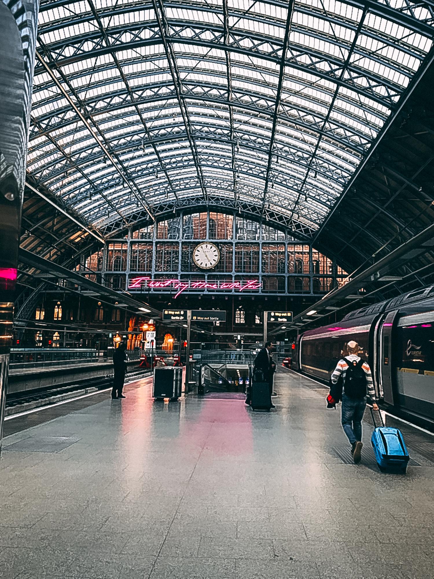 Eurostar to Amsterdam - Emma Inks
